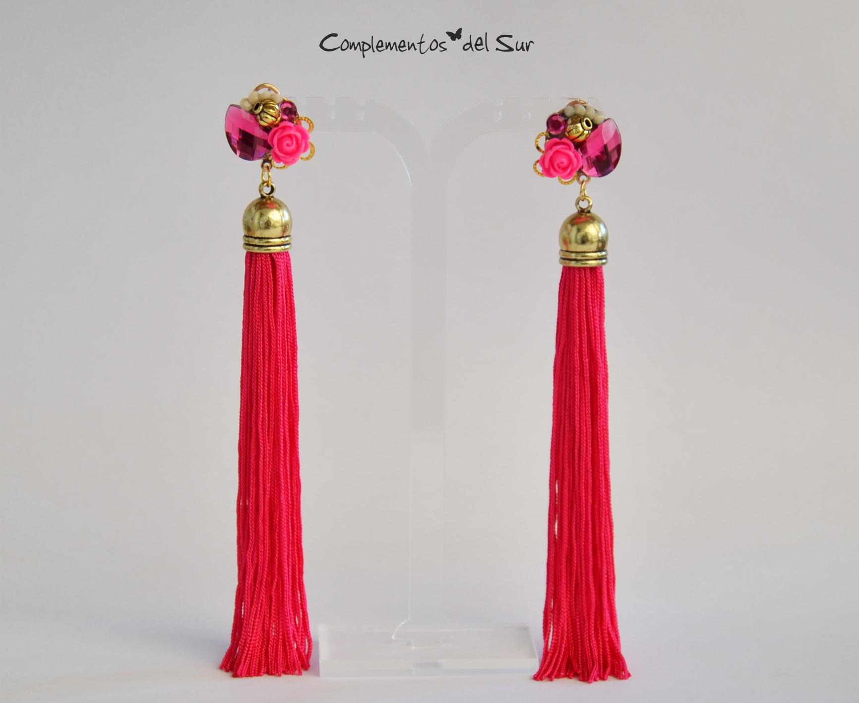 Pendientes de Flamenca o Fiesta
