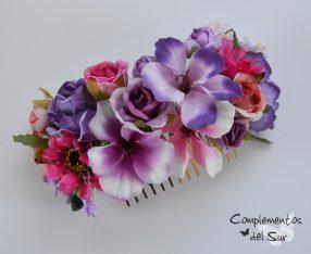 Peinecillo con Flores