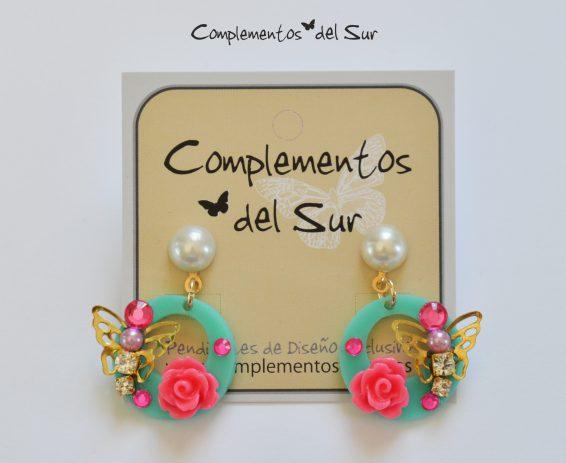 Pendientes de Flamenca para niñas