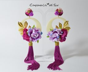 Pendientes de Flamenca y Fiesta