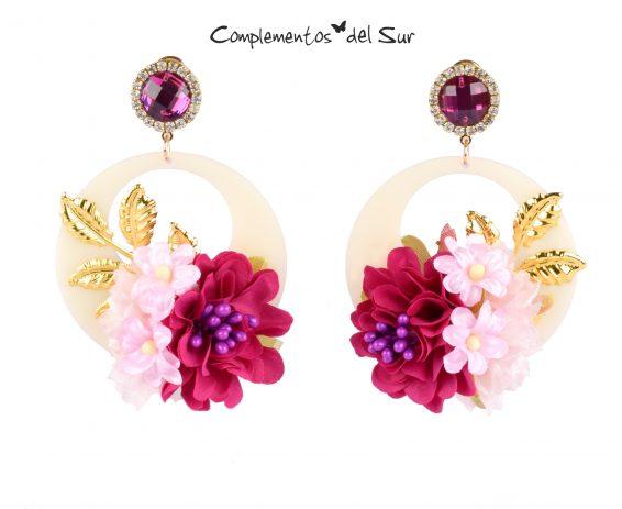 pendientes-flores-buganvillas-rosas