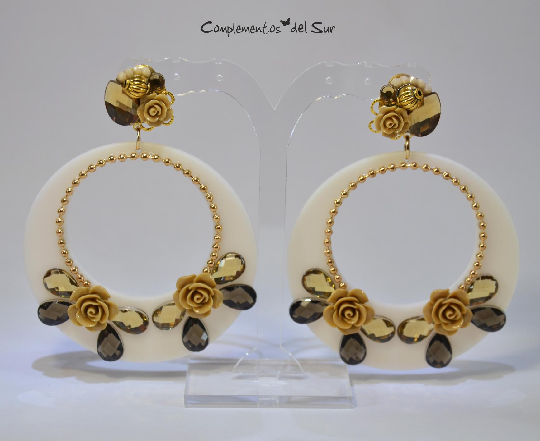 9716f73e8 Pendientes de Flamenca - Complementos del Sur